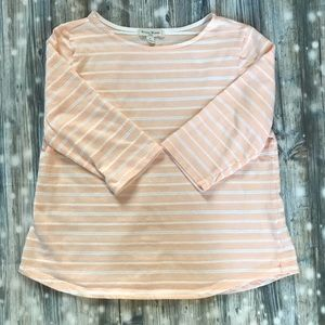 Peach 3/4 sleeve top
